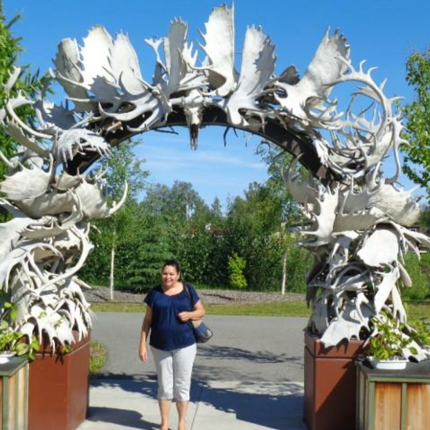 Antler Arch, Fairbanks